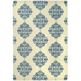 Chelsea Ivory/Blue Rug