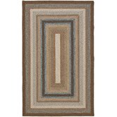 Braided Brown/Multi Rug