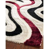 Miami Shag Cream/Multi Rug