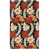 Blossom Black/Multi Rug