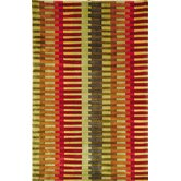 La Carta Pile Red/Green Rug