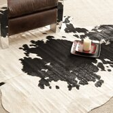 Cow Hide Black/White Rug