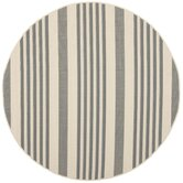 Courtyard Grey/Bone Rug