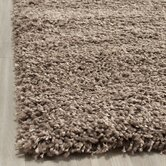 Shag Taupe Rug
