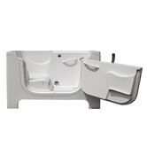 Handi-Tub Walk in Whirlpool and Air Bath in White