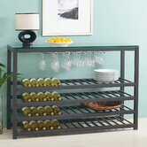 Trio 64 Bottle Wine Rack Floor