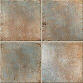 "Quarry Stone 4"" x 4"" Floor Tile in Forest"