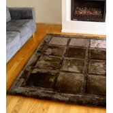 Sheepskin Design Square Rug