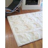 Shortwool Design Solar White Crescent Rug
