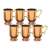 "Copper 5.5"" Tankard (Set of 6)"
