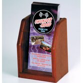 Countertop Single Pocket Brochure Display