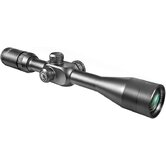 "3-12x40, Tactical Riflescope, Side Parallax, Black Matte, 1"", with 5/8"" Rings, Mil-Dot"