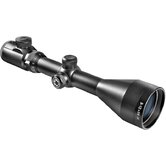 3-12x56 IR, Euro-30 Pro Riflescope, Black Matte, 30mm, 4A IR Cross 5/8&quot; Rings