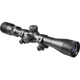 4x32 Plinker-22 Riflescope, Black Matte, 30/30, with 3/8&quot; Dovetail Rings, Clam