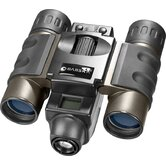 8x22mm, Point 'N View Binoculars, VGA, Black