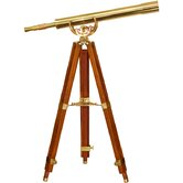 32x80 Scope, Anchormaster Telescopes, with Mahogany Floor Tripod