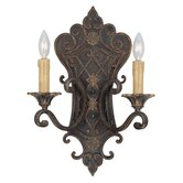 Southerby  Wall Sconce in Florencian Bronze
