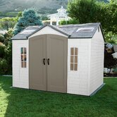 Side Entry Plastic Garden Shed