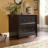 Edge Water Lateral File Cabinet in Estate Black