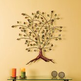 Boxwood Foliage Metal Wall Sculpture