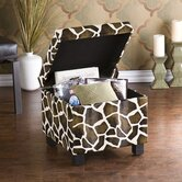 Wilson Giraffe Storage Cube Ottoman