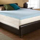 Bliss Gel Memory Foam Mattress Topper