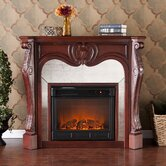 Rivington Mirrored Electric Fireplace