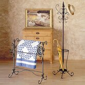Iron Quilt Rack and Coat Rack Set