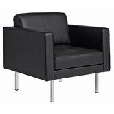 Nurja Leather Arm Chair