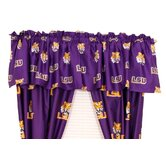Louisiana State University Printed Curtain Valance