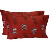 South Carolina Gamecocks Pillow Case Set