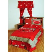 Arkansas Bed in a Bag with Team Colored Sheets