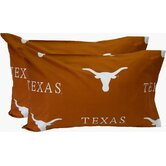 Texas Longhorns King Pillow Case Set