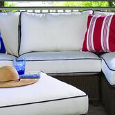 Hamptons Armless Sectional Piece