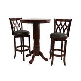 Cathedral Three Piece Pub Set in Light Cherry