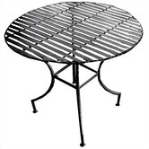 Folding Pangaea Easy to Assemble Iron Round Dining Table