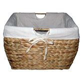 Pangaea Rattan Natural File Basket with Liner