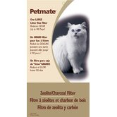 Zeolite Cat Litter Box Filter in Black