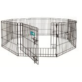 Dog Exercise Pen with Door