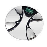 Glass Body Fat / Body Water Bathroom Scale