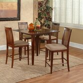 Montreal 5 Piece Counter Height Dining Set