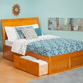 Urban Lifestyle Portland Bed with 2 Bed Drawer Sets