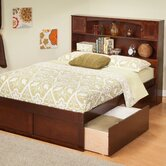 Urban Lifestyle Newport Bookcase Bed with Bed Drawers Set