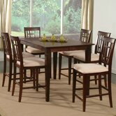 Deco 7 Piece Counter Height Dining Set