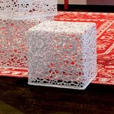 Crochet End Table