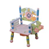 Potty Music Themed Kid's Novelty Chair