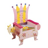 Potty Princess Themed Kid's Novelty Chair