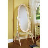 Safari Crackle Girl's Standing Mirror