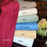 1000 Thread Count Egyptian Cotton Solid Queen Waterbed Sheet Set