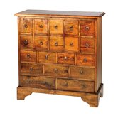 Mango Village Apothecary 19 Drawers Chest